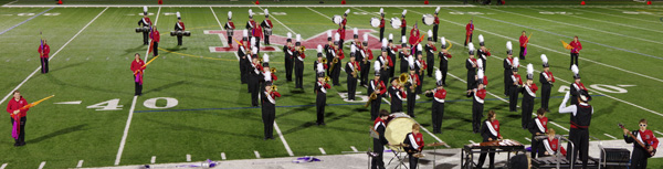 Band at MHS v Winchester - all-small