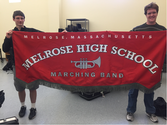 New Band Banner