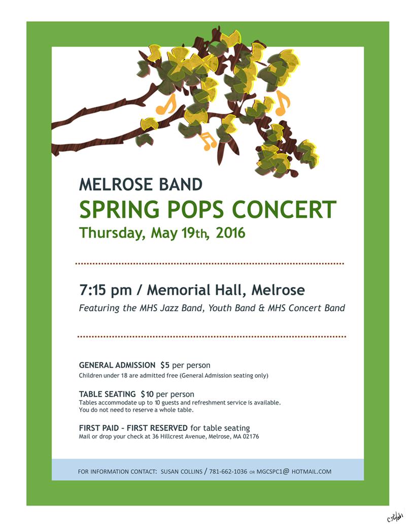 2016 Spring Pops Invitation