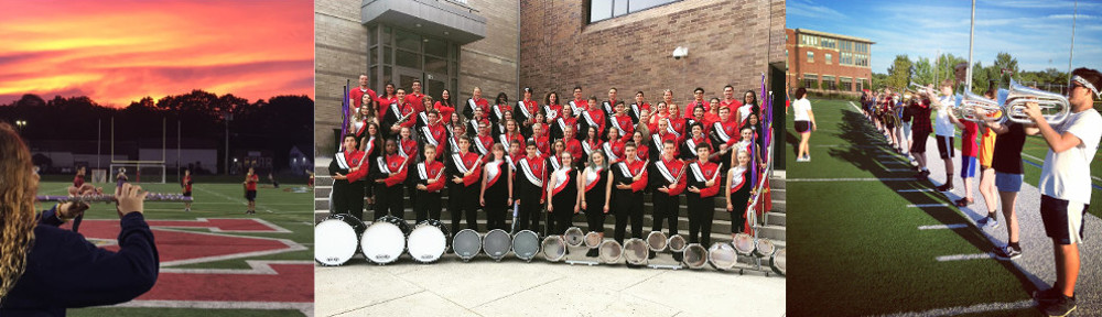 MELROSE High School Marching Band